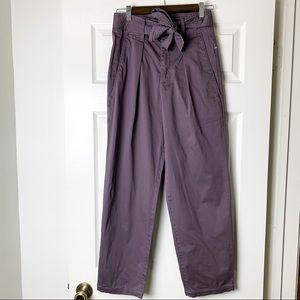 NEW alex mill pleated peg pants lavender gray 2